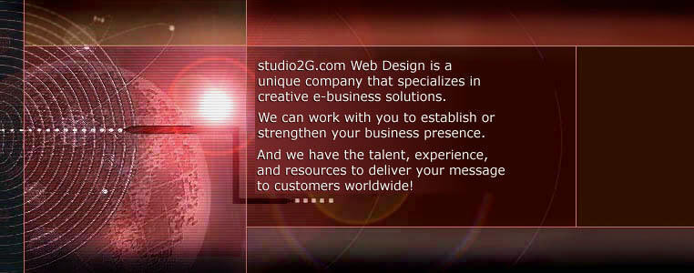 studio2G.com Web Design